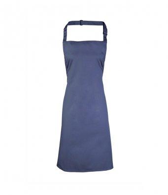 classic bib apron marine blue