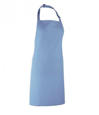 classic bib apron mid blue