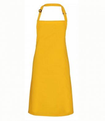 classic bib apron mustard
