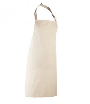 classic bib apron natural