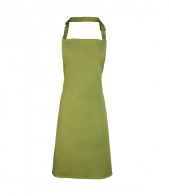 classic bib apron oasis green