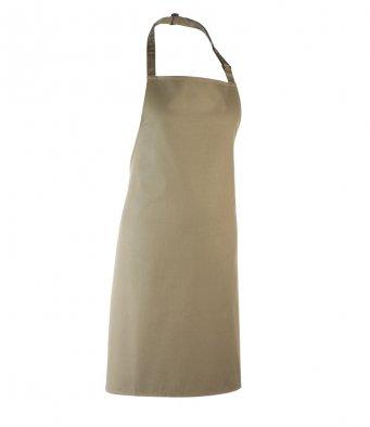 classic bib apron olive green