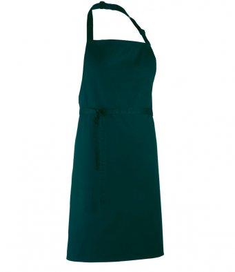 classic bib apron peacock
