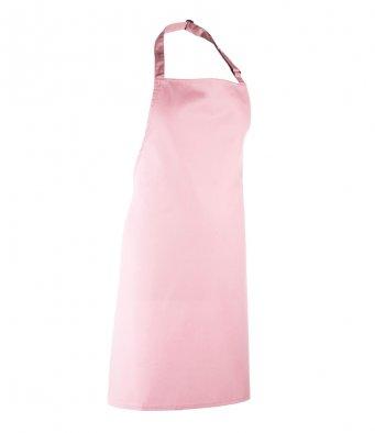 classic bib apron pink