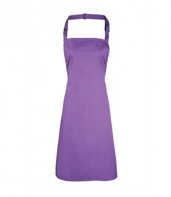 classic bib apron rich violet