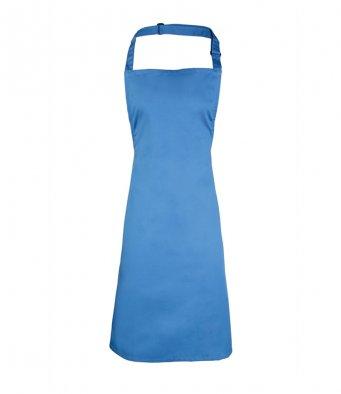 classic bib apron sapphire blue