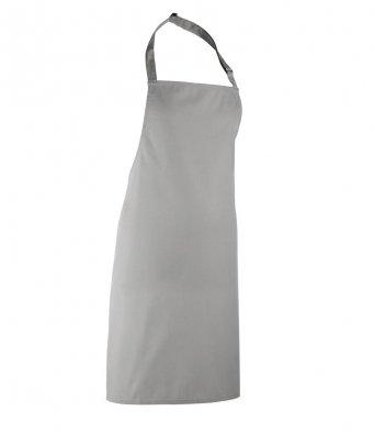 classic bib apron silver