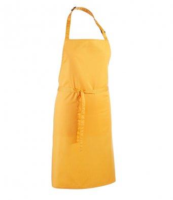 classic bib apron sunflower