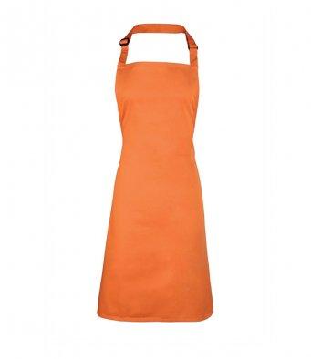 classic bib apron terracotta