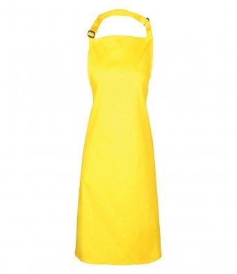 classic bib apron yellow