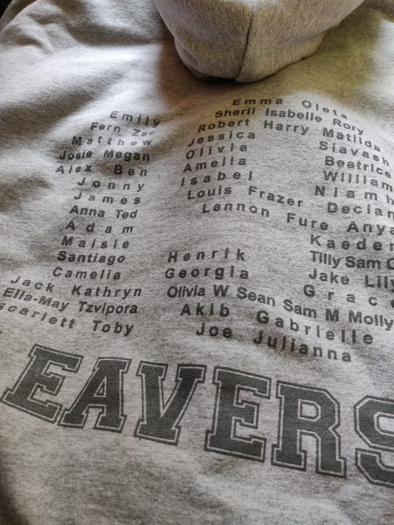 college leavers hoodie