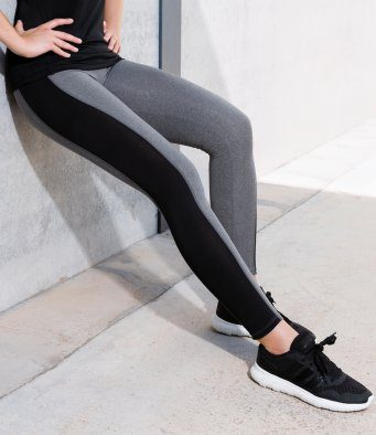 contrast yoga leggings