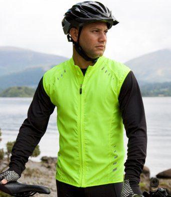 cycling gilet