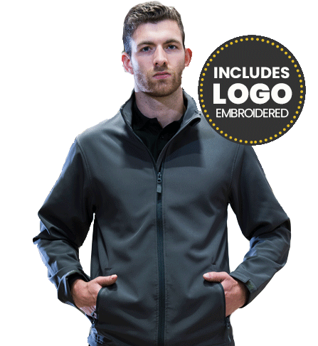 deal softshell jacket m