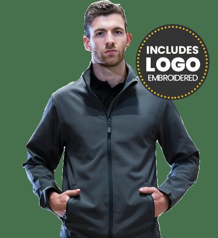 deal softshell jacket m