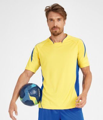 embroidered football shirt