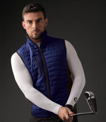 golf padded gillet