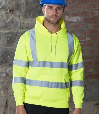 hi vis hoodie