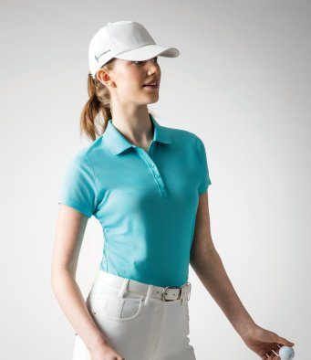 ladies golf polo
