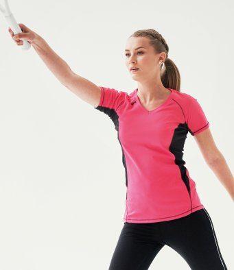 ladies tennis t shirt