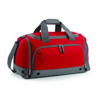leisure holdall classic red