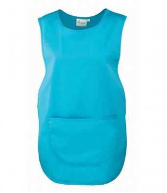 premier pocket tabard turquoise blue