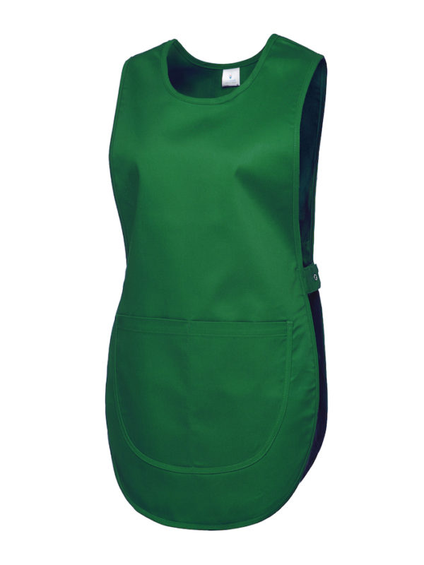 workwear tabard uc920 bottle green