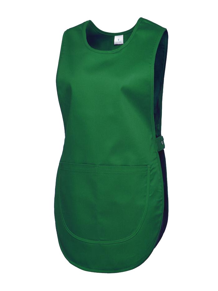 workwear tabard uc920 bottle green