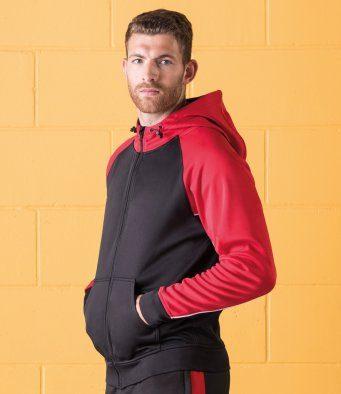 zip hoodie sports