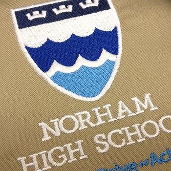 Norham school print