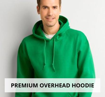 Premium overhead hoodie