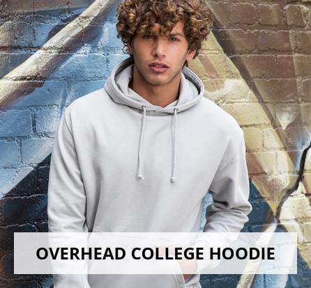 Overhead college hoodie