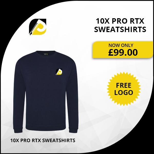 10x Pro RTX Sweatshirts