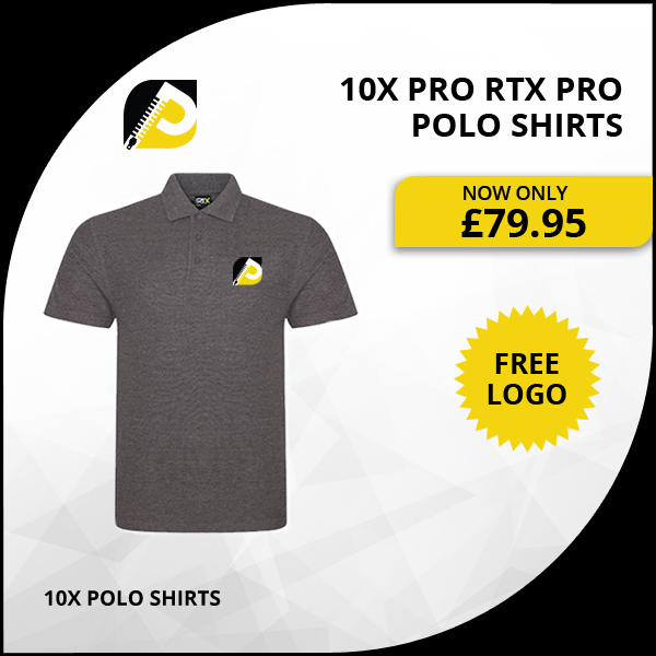 10x Pro Rtx Pro Polo Shirts
