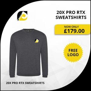 20x Pro RTX Sweatshirts
