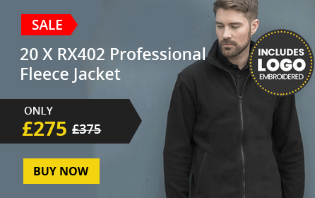 20x RX402 professional fleece jacket