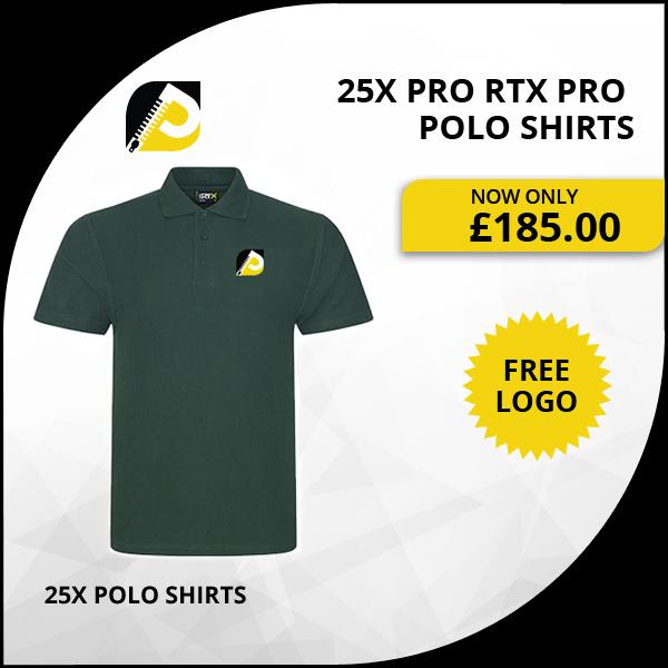 25x pro polo shirts