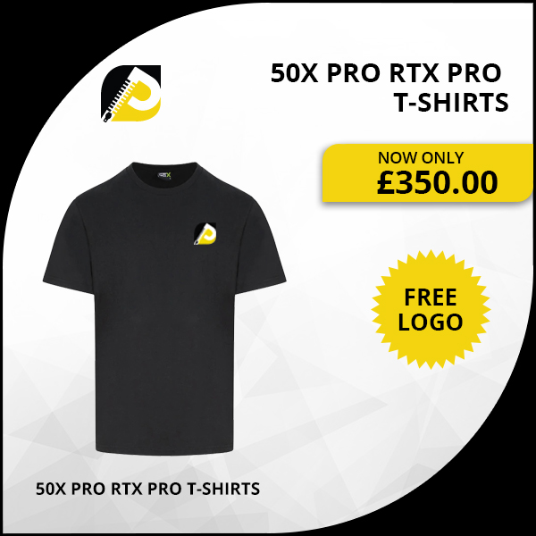 50x Pro RTX Pro T-Shirts