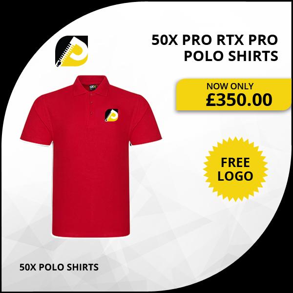 50x Pro Rtx Pro Polo Shirts