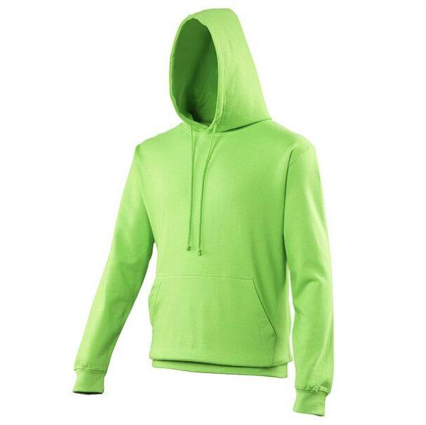 hooded t-shirt alien green