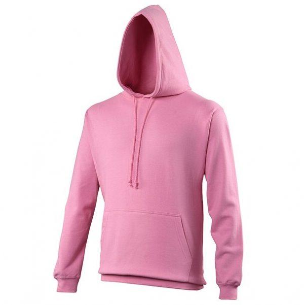 hooded t-shirt candyfloss pink