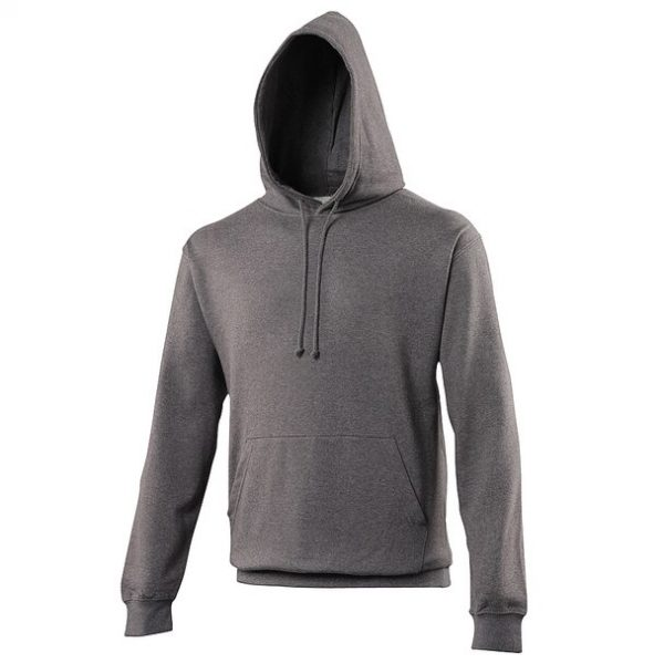 hooded t-shirt charcoal
