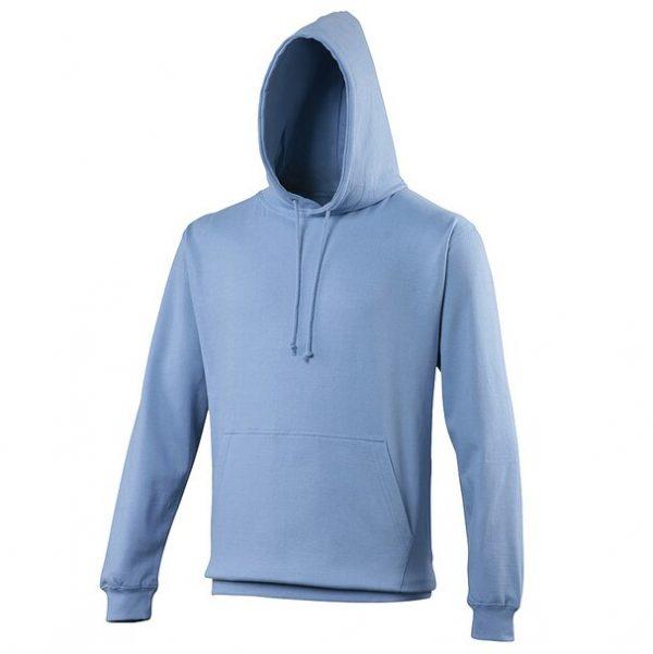 hooded t-shirt cornflower blue