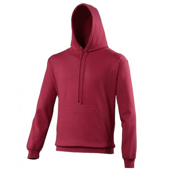 hooded t-shirt cranberry