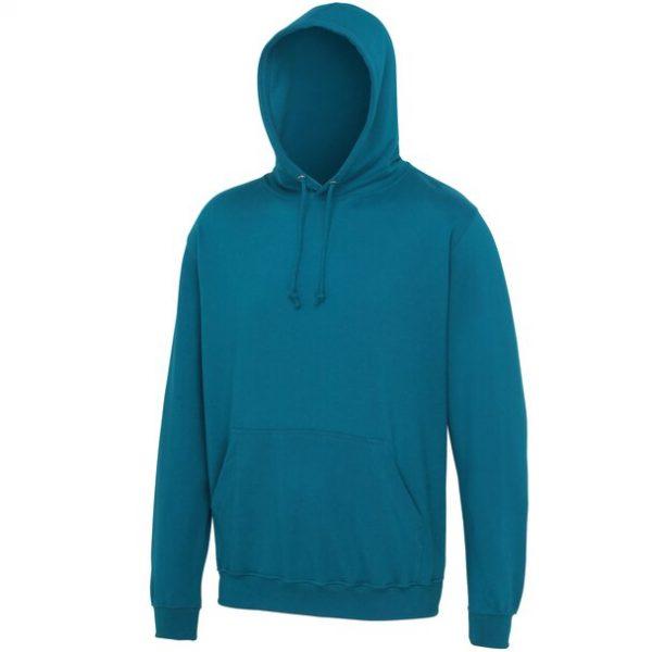 hooded t-shirt deep sea blue