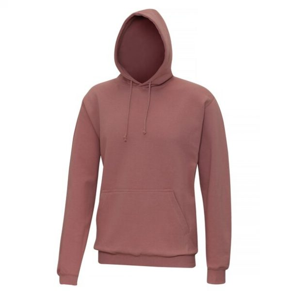 hooded t-shirt dusty pink