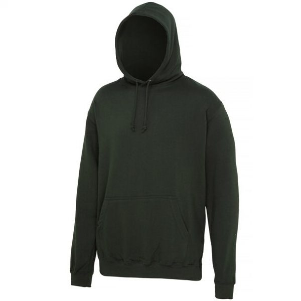 hooded t-shirt forest green