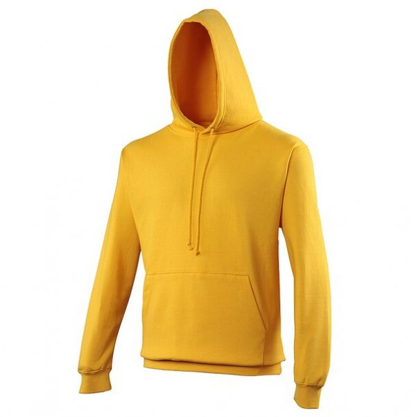 hooded t-shirt gold