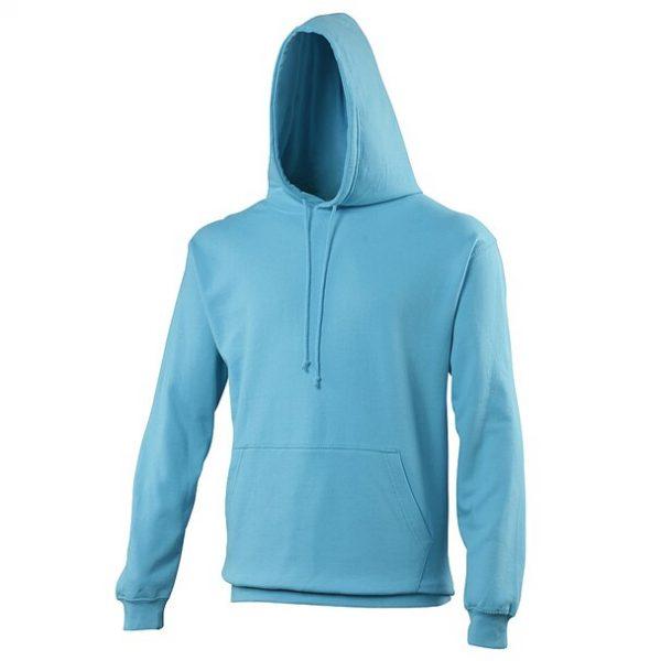 hooded t-shirt Hawaiian Blue