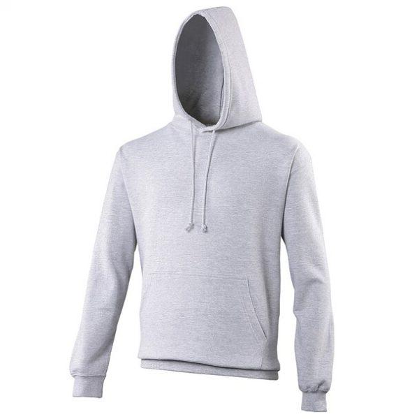hooded t-shirt heather grey